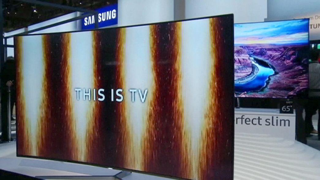 TV-Geräte auf der CES: Größer, dünner, schärfer