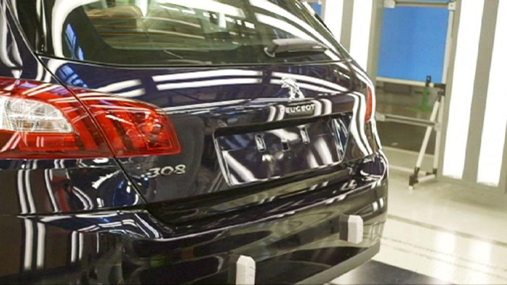 Peugeot-Citröen aumentou venda de automóveis em 2015