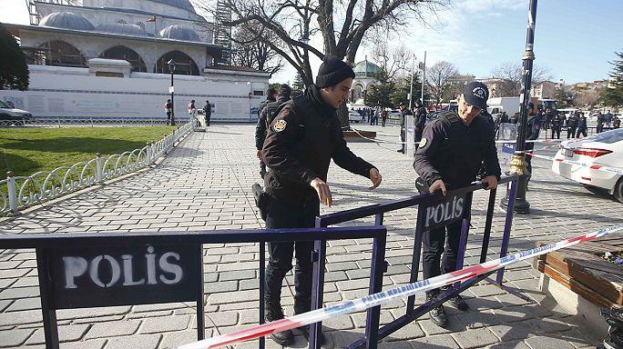 Говорят свидетели взрыва в Стамбуле
