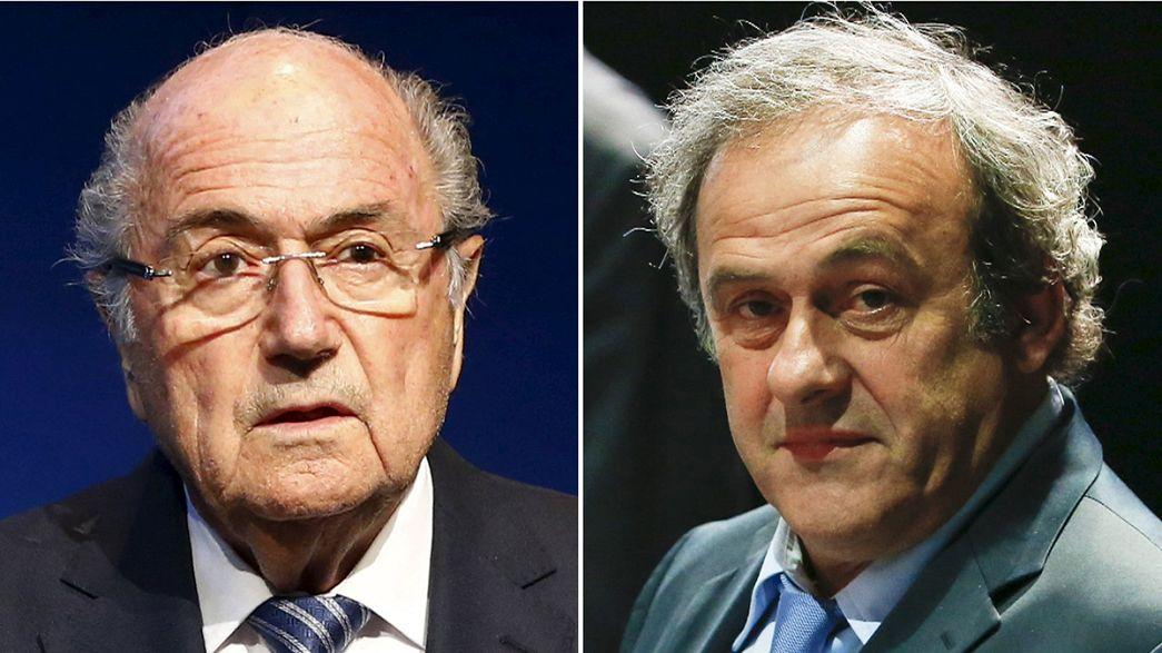 Ninguém ficou contente com os oito anos de castigo para Blatter e Platini