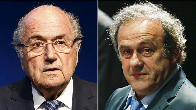 Platini and Blatter still facing life bans