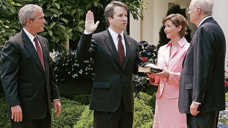President Bush Swears In Appeals Judge Brett Kavanaugh