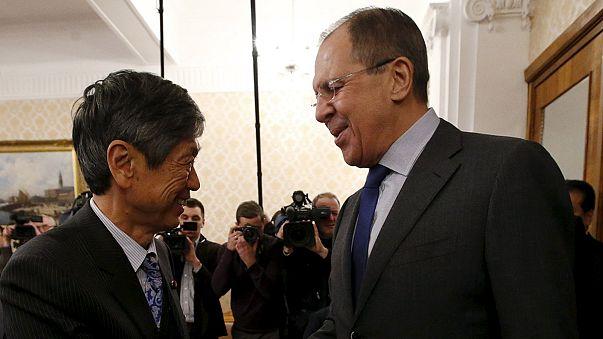 Rússia e Japão mais próximos