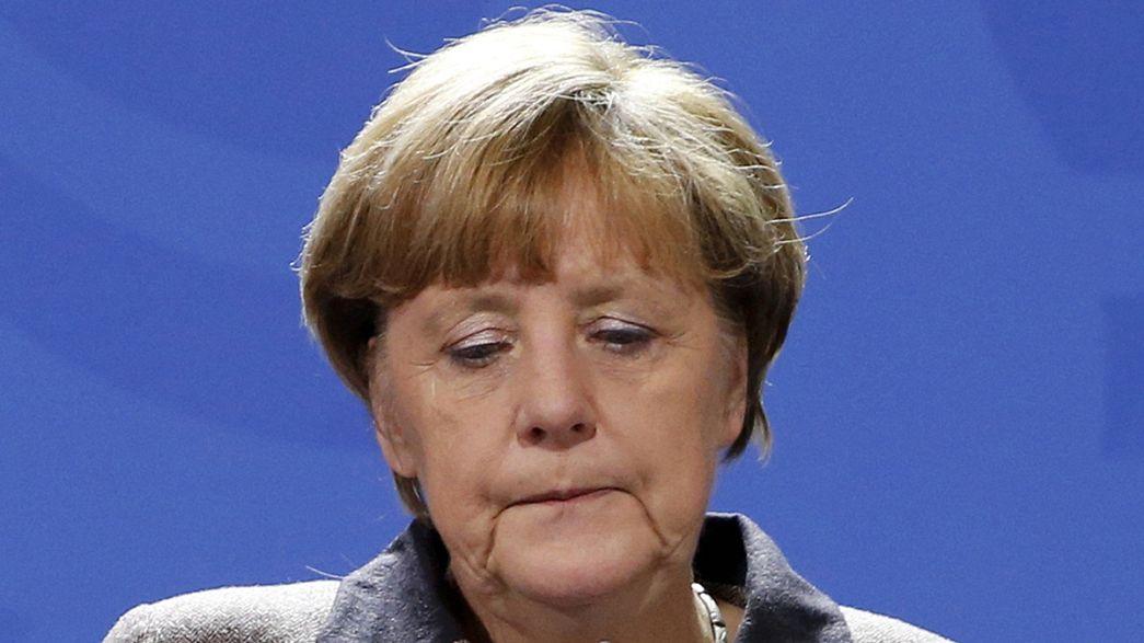 Merkel promete combate ao terrorismo