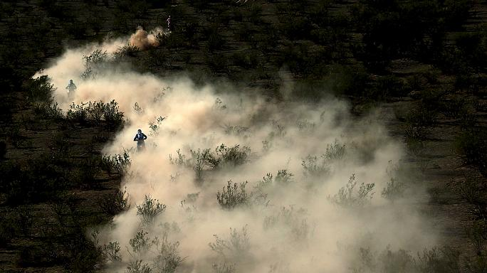 Dakar-rali - Sainz élre állt