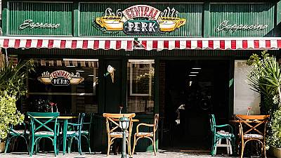 ''Friends'' Central Perk cafe opens in Egypt