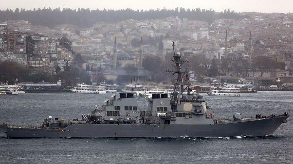 Суда ВМС США случайно заплыли в Иран