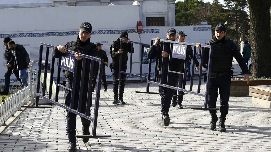 Турция: террорист-смертник приехал из Сирии