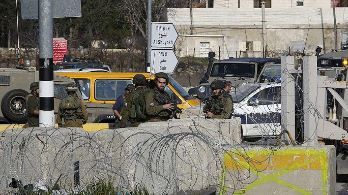 Palesztinok támadtak izraeli katonákra Ciszjordániában