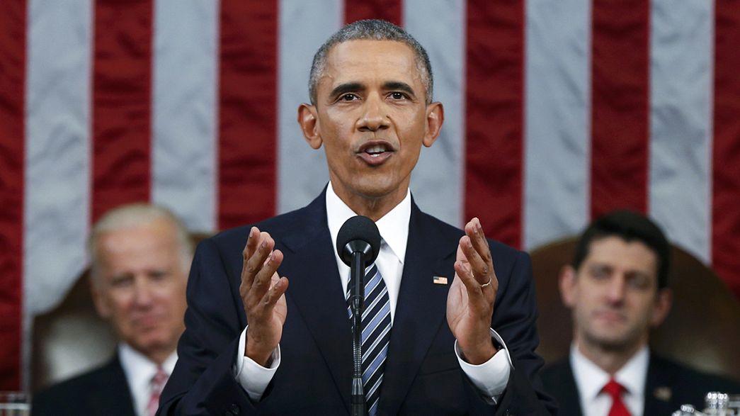 Obama ha rivolto al Congresso il suo ultimo discorso sullo stato dell'Unione