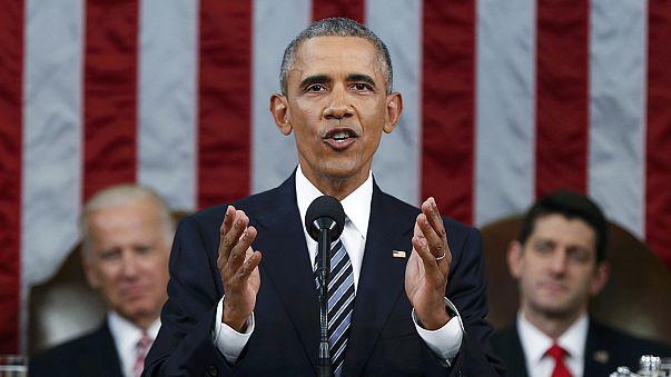 """Obama de regresso à """"mudança"""" no último discurso do estado da União"""