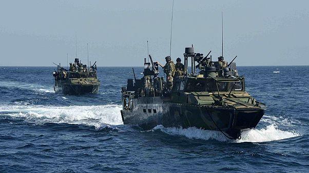 Iran detains US sailors in Persian Gulf