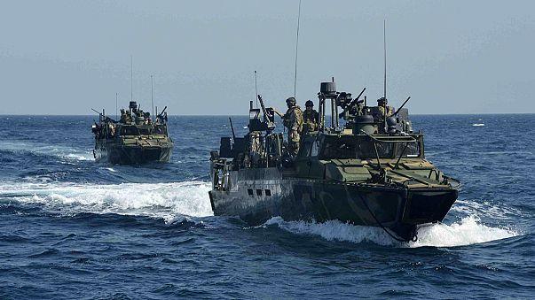 Irán liberará este miércoles a los 10 marinos estadounidenses retenidos