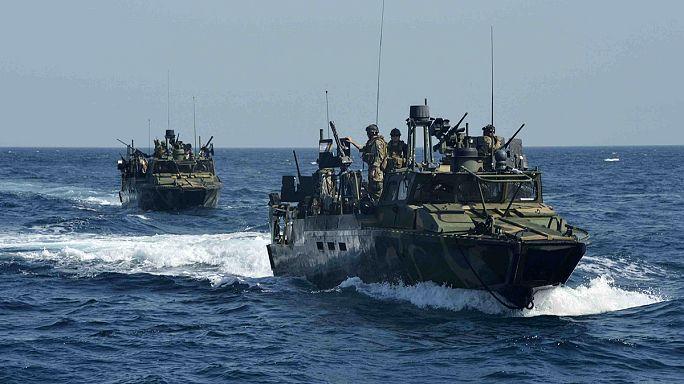 Szerdán reggel szabadulnak az amerikai haditengerészek
