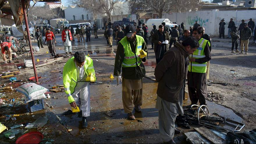 At least 14 dead in blast at Pakistan polio centre
