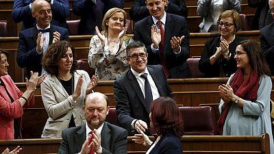 España: Patxi López elegido presidente del Congreso en segunda votación