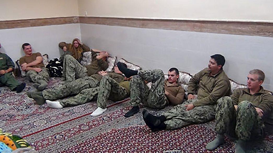 Иран освободил американских военных моряков