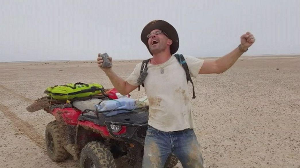 E-Mail aus dem All: Meteoritenfund im australischen Outback