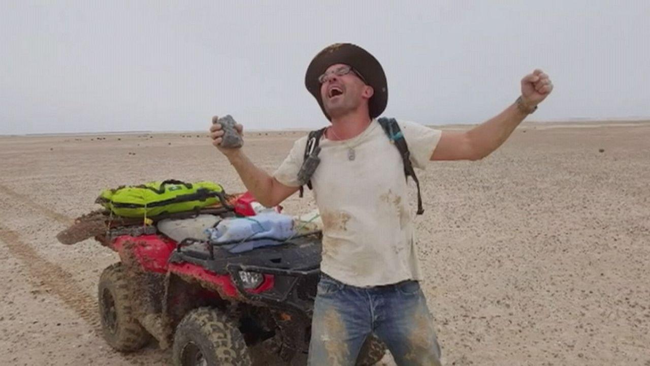 Ψάχνοντας για μετεωρίτες στην Αυστραλία
