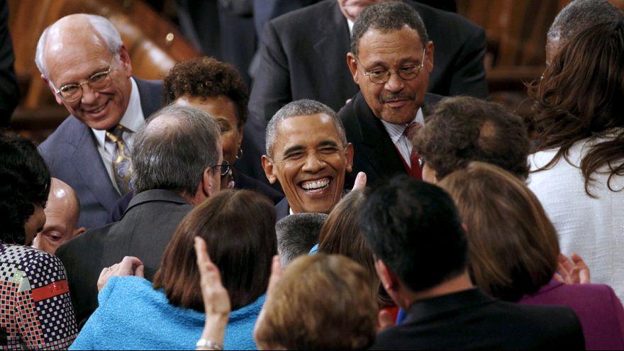 """Obama'nın son """"Birliğin Durumu"""" konuşması"""