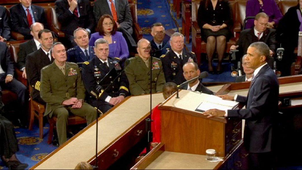 EE.UU: momentos destacados del último discurso sobre el estado de la Unión de Obama