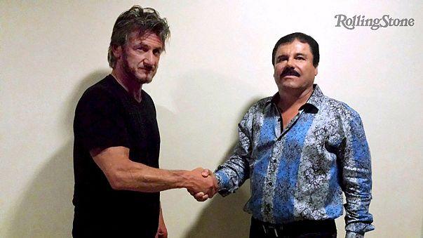 """Furor en Los Ángeles por hacerse con la camisa estampada de """"El Chapo"""""""