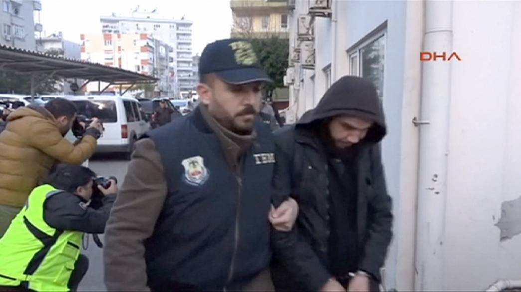 Footage emerges of suspected Istanbul suicide bomber