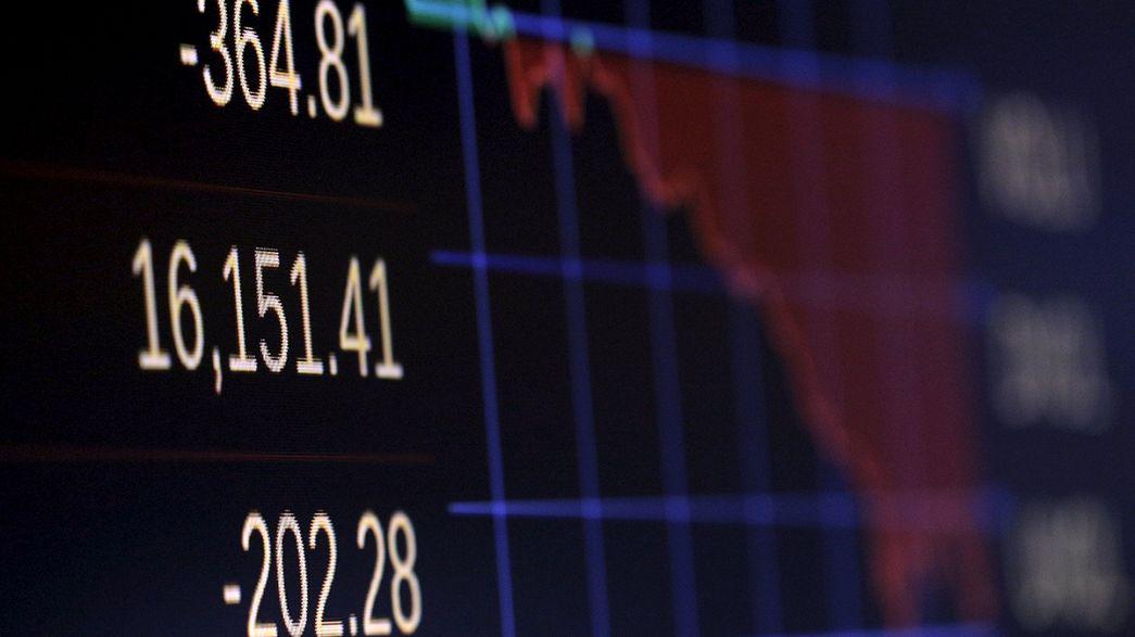 Borsa New York chiude in calo dopo lo scivolone del petrolio sotto a 30 $ al barile