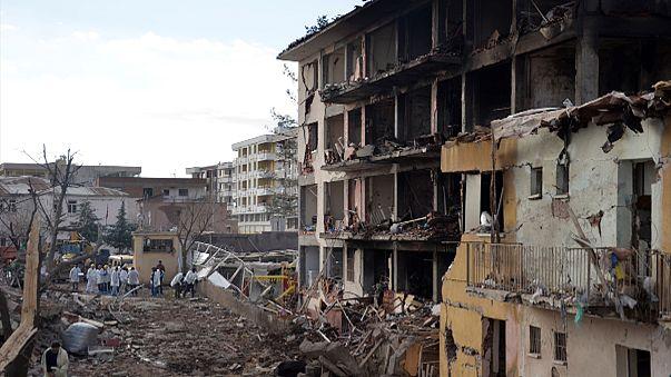 PKK-Angriff auf Polizeiwache: Wohngebäude eingestürzt
