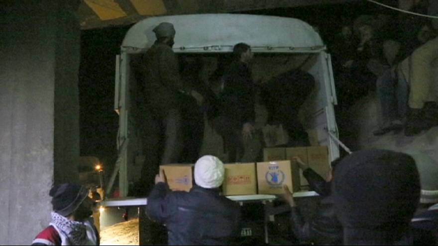 New aid convoy due in Syria as peace talks are scheduled for this month