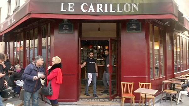 Paris cafe reopens after terror attacks