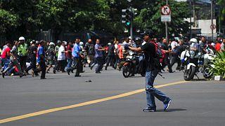 La policía responsabiliza al Dáesh de los atentados que dejan al menos siete muertos en Yakarta