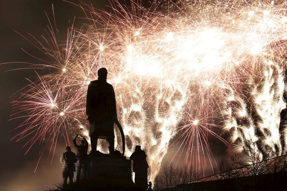 Festivités pour le Nouvel an serbe