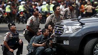 Terrortámadás Indonéziában