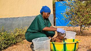 Ebola: difficile réinsertion des orphelins