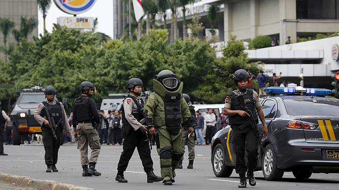 Cakarta'daki saldırı sonrası halk tedirgin