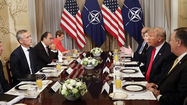 Image: Donald Trump, Jens Stoltenberg