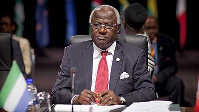 Sierra Leone : polémique autour la prorogation du mandat d'Ernest Koroma