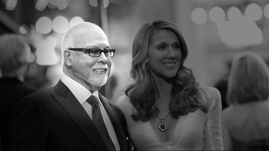 Celine Dion's husband has died after a long battle with cancer