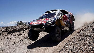 Peterhansel y Price se encaminan hacia sus triunfos en el Dakar
