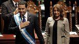 Гватемала: президент Моралес принес присягу