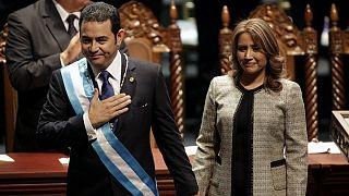 Jimmy Morales officiellement investi président du Guatemala