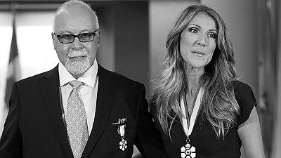 Celine Dion's husband dies of cancer