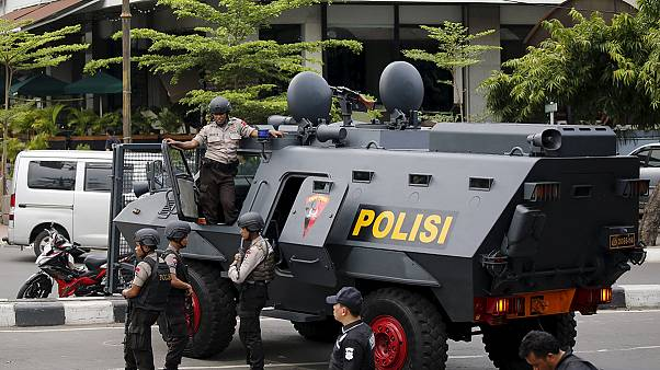 Three arrested in hunt for Jakarta attackers