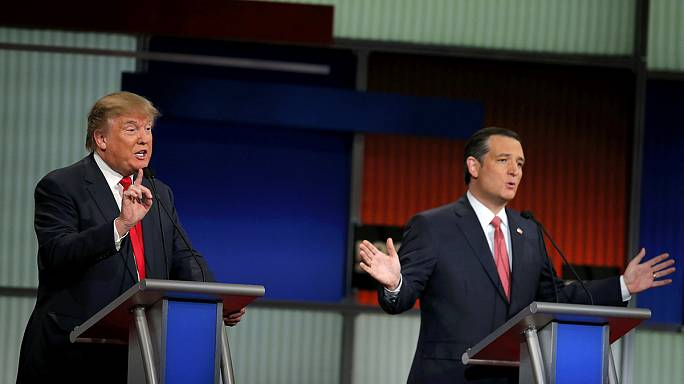 Trump-Cruz vendetta at centre stage in aggressive Republican debate