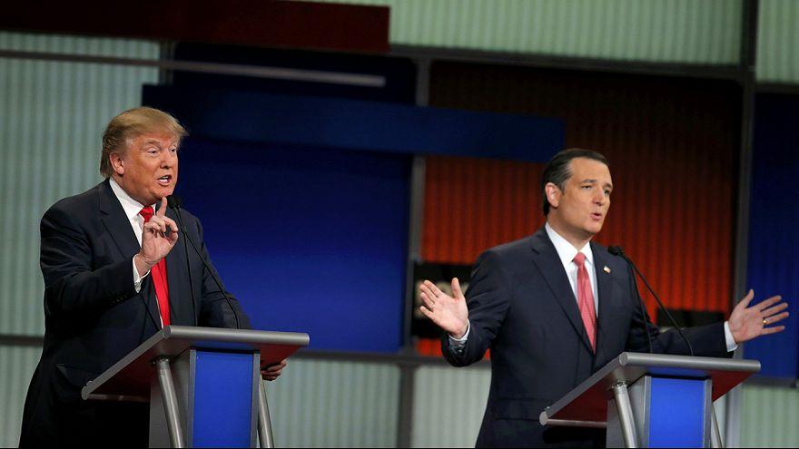 Trump-Cruz vendetta at centre stage in aggressive Republican debate