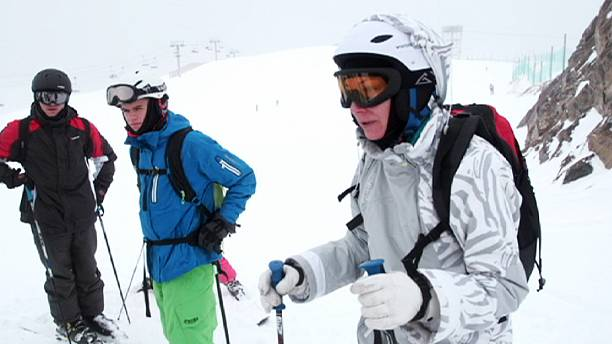 Safety on the slopes: skiiers taught avalanche awareness