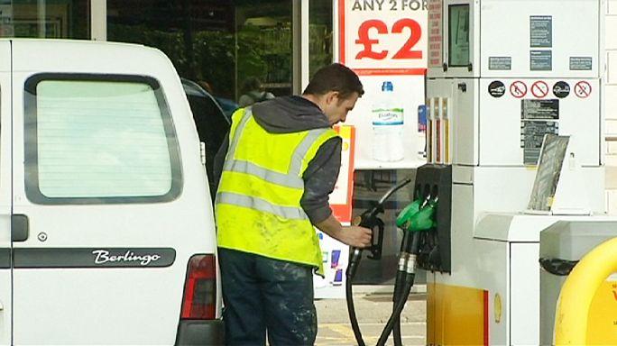 Petrol fiyatında düşüş sürüyor