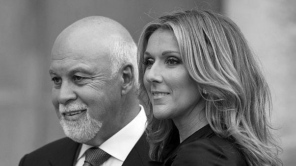 """Muere René Angéli, """"un visionario artístico"""" e inseparable marido de Celine Dion"""