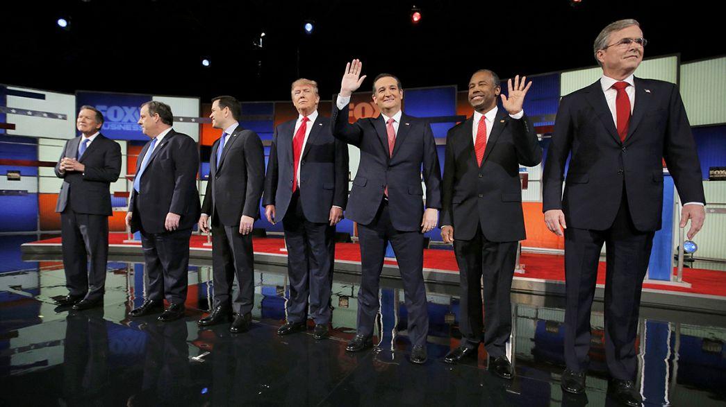 Neue Fernsehdebatte: Trump und Cruz beherrschen Vorwahlkampf der US-Republikaner